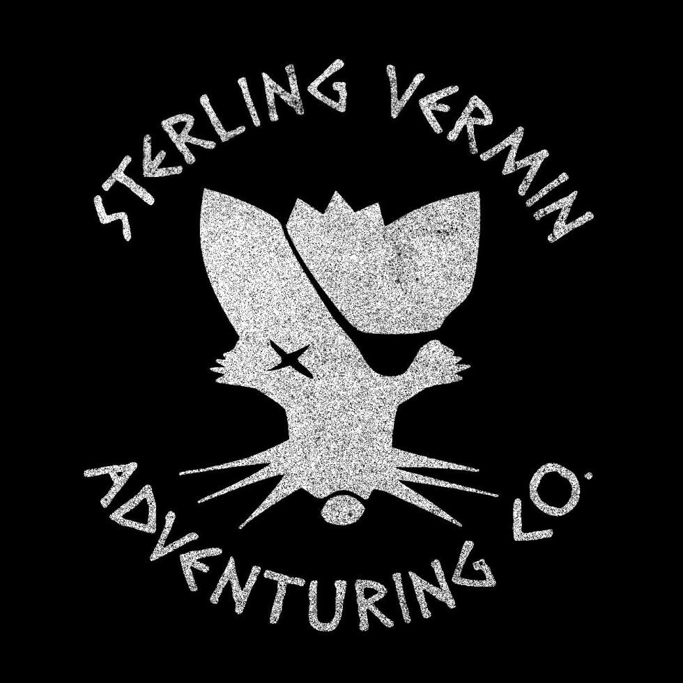 Sterling Vermin Logo - Black